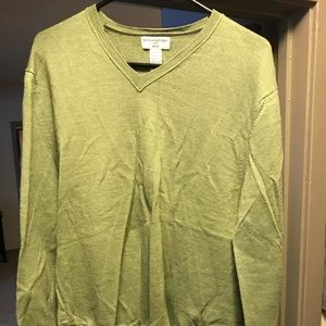 XL Banana Republic merino wool v neck sweater